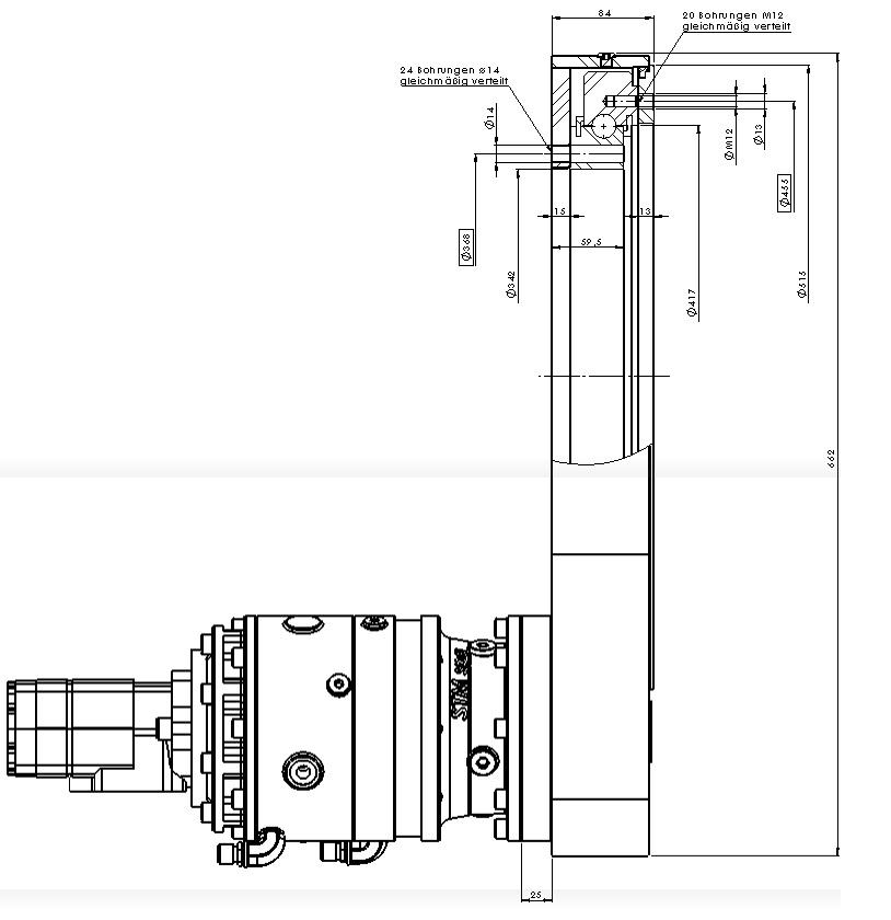 Шестеренные передачи PDMC 0414-5-00