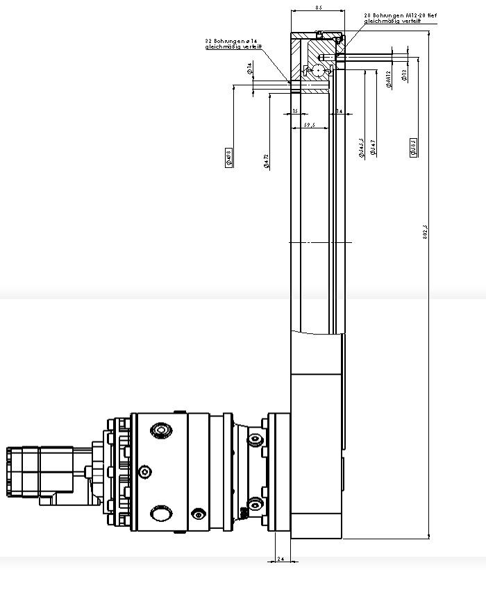 Шестеренные передачи PDMC 0414-6-00