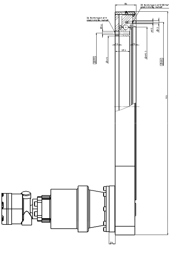 Шестеренные передачи PDMC 0414-7-00