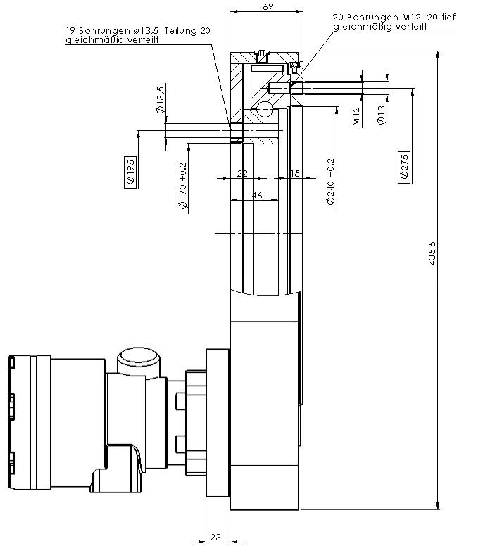 Шестерные передачи PDLC 0235-00002-00