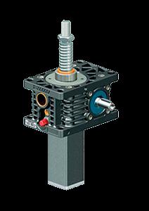 Винтовой домкрат ZIMM серии Z версии S c трапецеидальным винтом и типоразмерами от 5kN до 1000kN