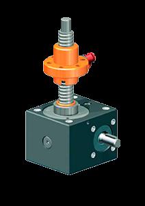 Винтовой домкрат ZIMM серии GSZ версии R c трапецеидальным винтом и типоразмерами от 2,5kN до 100kN