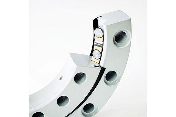 Опорно-поворотные устройства с перекрестными роликами
