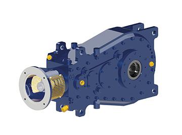 Специальные коническо-цилиндрические редукторы CH Schäfer Getriebe GmbH