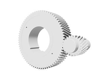 Цилиндрические зубчатые колеса